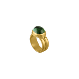 Green Tourmaline Nauta Ring