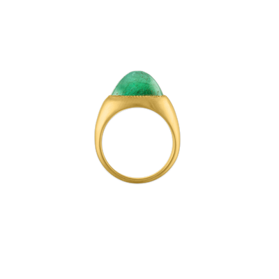 Grand Emerald Roz Ring
