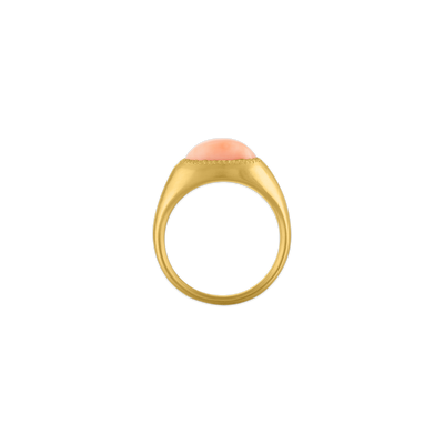 Angel Skin Coral Roz Ring