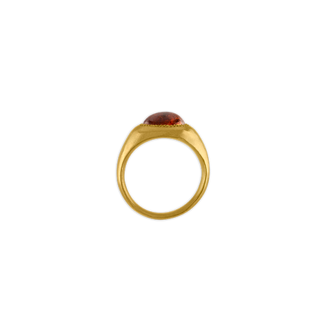 Spessartite Garnet Roz Ring