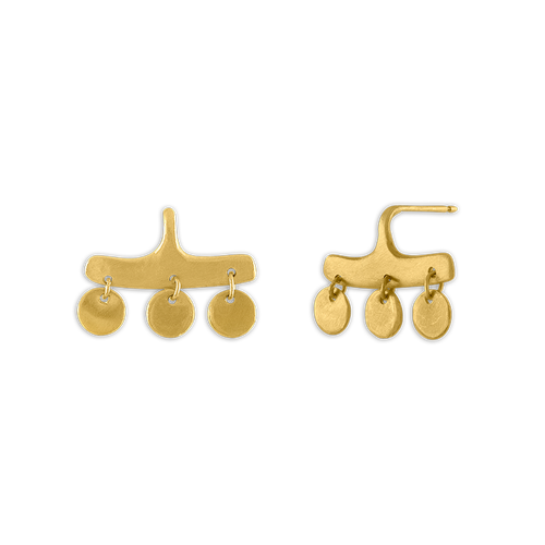 Gold Syca Earrings