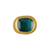 Green Tourmaline Masona Ring