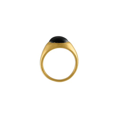 Black Tourmaline Roz Ring