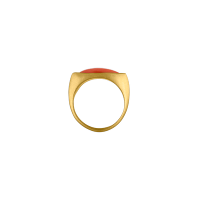 Laurel Daphne Coral Ring