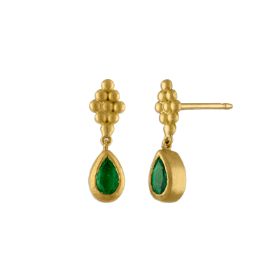 Small Emerald Nona Earrings