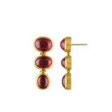 Spessartite Trio Hinge Earrings