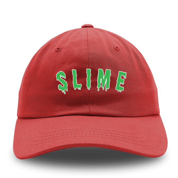 YOUNG NUDY SLIME Dad Hat Red