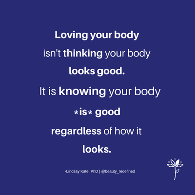 Your Body *IS* Good