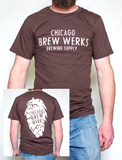 Chicago Brew Werks T-Shirt - Brown