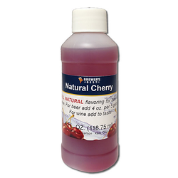Flavoring, Natural - Cherry - 4 oz