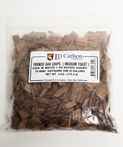 French Oak Chips Medium Toast - 4 oz.