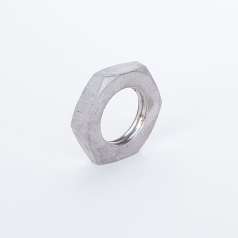 "Stainless Steel Hex Nut - 1/2"" NPT"