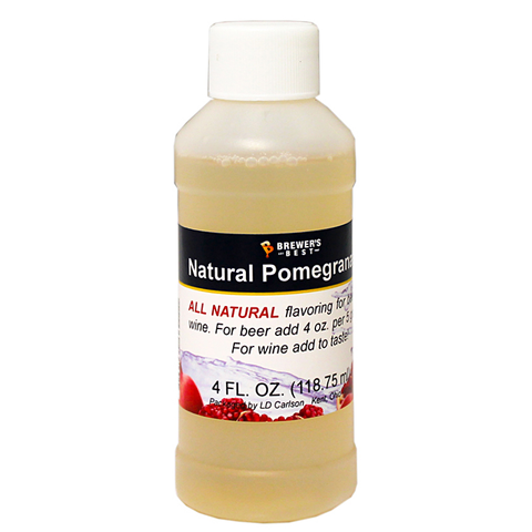 Flavoring, Natural - Pomegranate - 4 oz