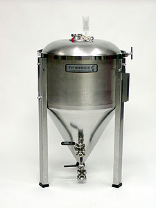 Blichmann Fermenator - Conical Fermentor - 14.5 Gallon with NPT Fittings