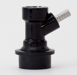 Ball Lock Disconnect - Liquid - Barbed 1/4""