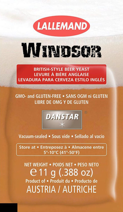 Windsor British Style Beer Yeast - 11 gram packet