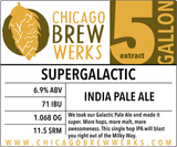 CBW Supergalactic (AMERICAN INDIA PALE ALE) - 5 Gallon Extract Ingredient Kit