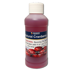 Flavoring, Natural - Cranberry - 4 oz