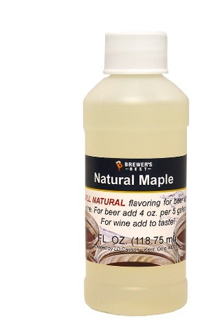 Flavoring, Natural - Maple - 4 oz