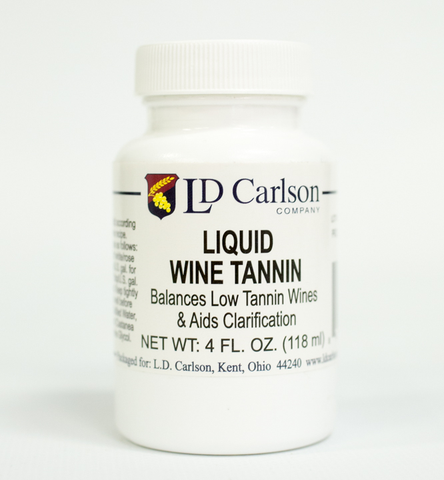 Liquid Wine Tannin - 4 oz