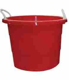 Rope Handle Red 20 Gallon Tubs - Fits 15.5 Gallon Sanke Kegs