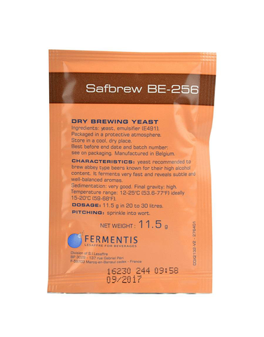 Fermentis Safbrew BE-256 Dry Brewing Yeast