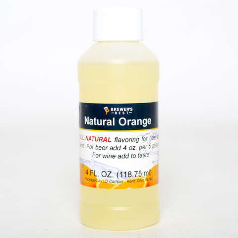 Flavoring, Natural - Orange 4 oz