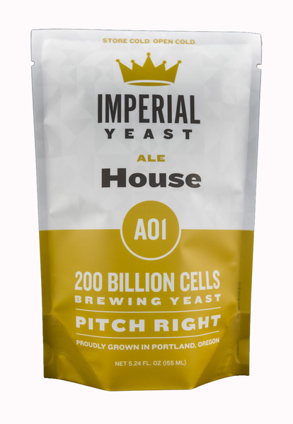 Imperial Organic Yeast A01 - House