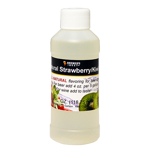 Flavoring, Natural - Strawberry Kiwi - 4 oz
