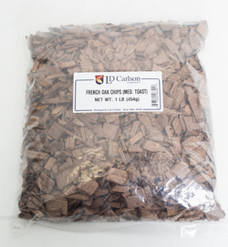 French Oak Chips (Medium Toast) 1 lb.