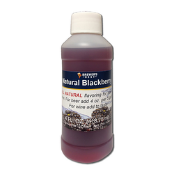 Flavoring, Natural - Blackberry - 4 oz