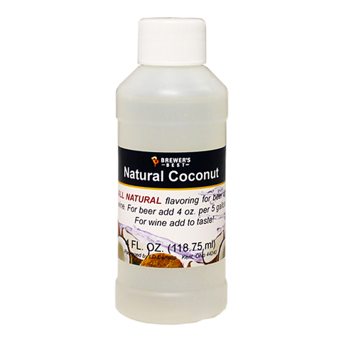 Flavoring, Natural - Coconut - 4 oz