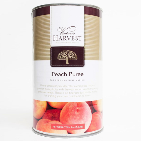 Vintner's Harvest Peach Puree - 49 oz Tin