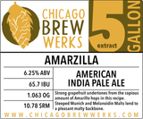 CBW Amarzilla (AMERICAN INDIA PALE ALE) - 5 Gallon Extract Ingredient Kit