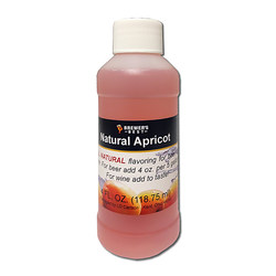 Flavoring, Natural - Apricot - 4 oz