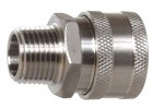 "Quick Disconnect - Female x 1/2"" MPT - Stainless Steel"