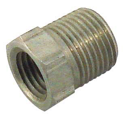 "Stainless Steel Bushing - 1/2"" MPT X 1/4"" FPT"