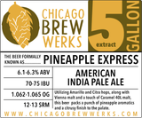 CBW Pineapple Express (AMERICAN INDIA PALE ALE) - 5 Gallon Extract Ingredient Kit