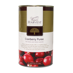 Vintner's Harvest Cranberry Puree - 49 Oz Can