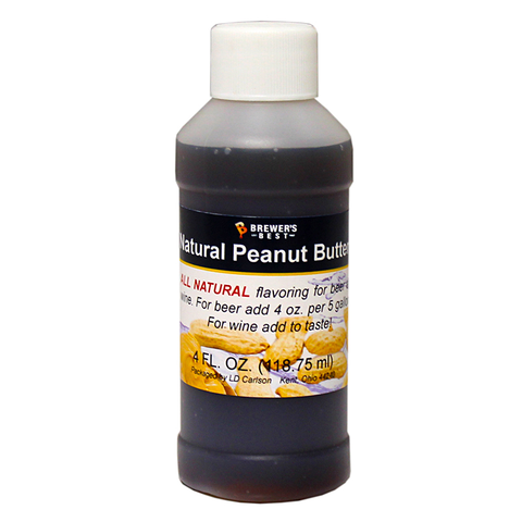 Flavoring, Natural - Peanut Butter - 4 oz