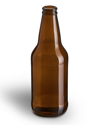 12 oz. Beer Bottles - Heritage Amber (24/Case)