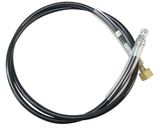 6' Extension Hose with Tank Connector (Right Hand) for CO2 Tank