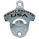 "Stationary Bottle Opener - ""CRAFT BREWED IN USA"""