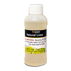 Flavoring, Natural - Lime - 4 oz
