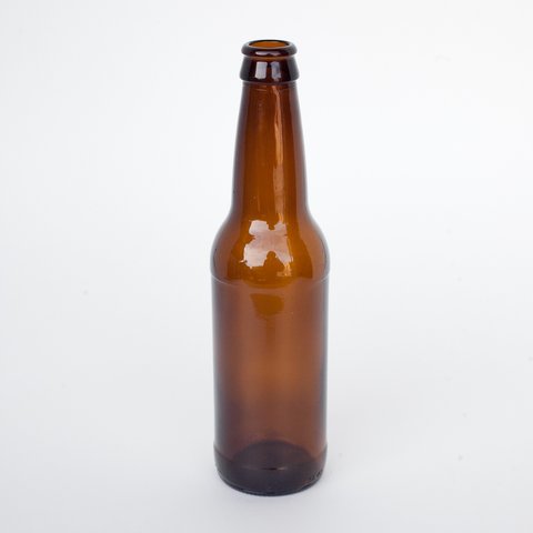12 oz. Beer Bottles - Amber (24/Case)