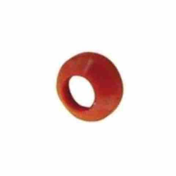 Red Nylon Flare Washer - 1/2-16