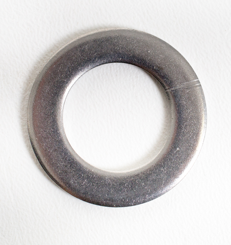 "Stainless Steel 304 Washer - 7/8"" Inner Diameter and 1/8"" Thick"