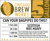 CBW Can Your Bagpipes Do This? - 5 Gallon All Grain Ingredient Kit