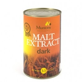 Muntons Plain Dark Malt Extract - 3.3 LB