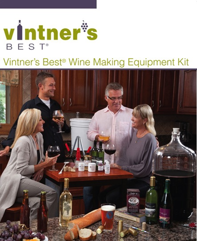 Vintners Best Wine Equipment Kit with Double Lever Corker and Better Bottle